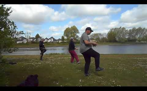 La pratique continue ! 8 mai 2021 Lac Lebisey