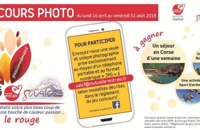 Concours Photo de la Mutuelle ENTRAIN organisé en partenariat avec l'UAICF : à vos téléphones !