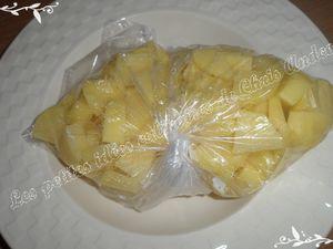 Pommes de terre sautées aux carrés de bœuf
