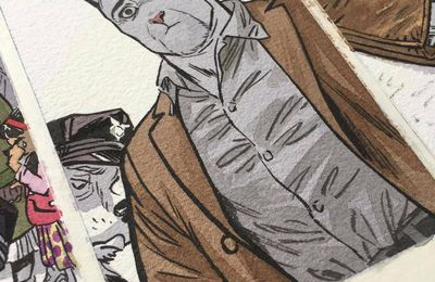 Work in progress … by Juanjo Guarnido, Tome 6 Blacksad
