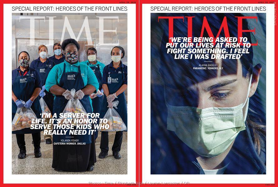 Les plus belles Unes de Time Magazine pendant la crise sanitaire ! (Diaporama) #Time #RestezChezVous