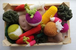 the serial crocheteuses & more n° 468 : légumes