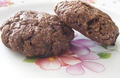 Cookies Cacao & Pépites de Chocolat
