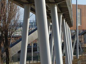 Gare de Créteil Pompadour - Photos: Lankaart (c)