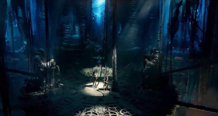 """Merlin, les chevaliers de la table ronde, """"leur"""" moyen-âge, le """"talisman"""" ; c'est carrément les croisades des temps modernes. Ça rappelle le dernier volet de la guerre des étoiles."""