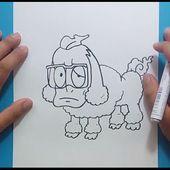 Como dibujar a Cantonio paso a paso - Yo Kai Watch | How to draw Manjimutt - Yo Kai Watch