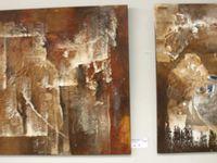 Inklusive Bilder an einem inklusiven Ort - Kunst von Menschen, die anders sehen im Veitshöchheimer BFW - Stilvolle Ausstellungseröffnung mit Werken aus dem Blindeninstitut Würzburg