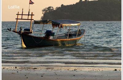 Sihanoukville : la pause plage…