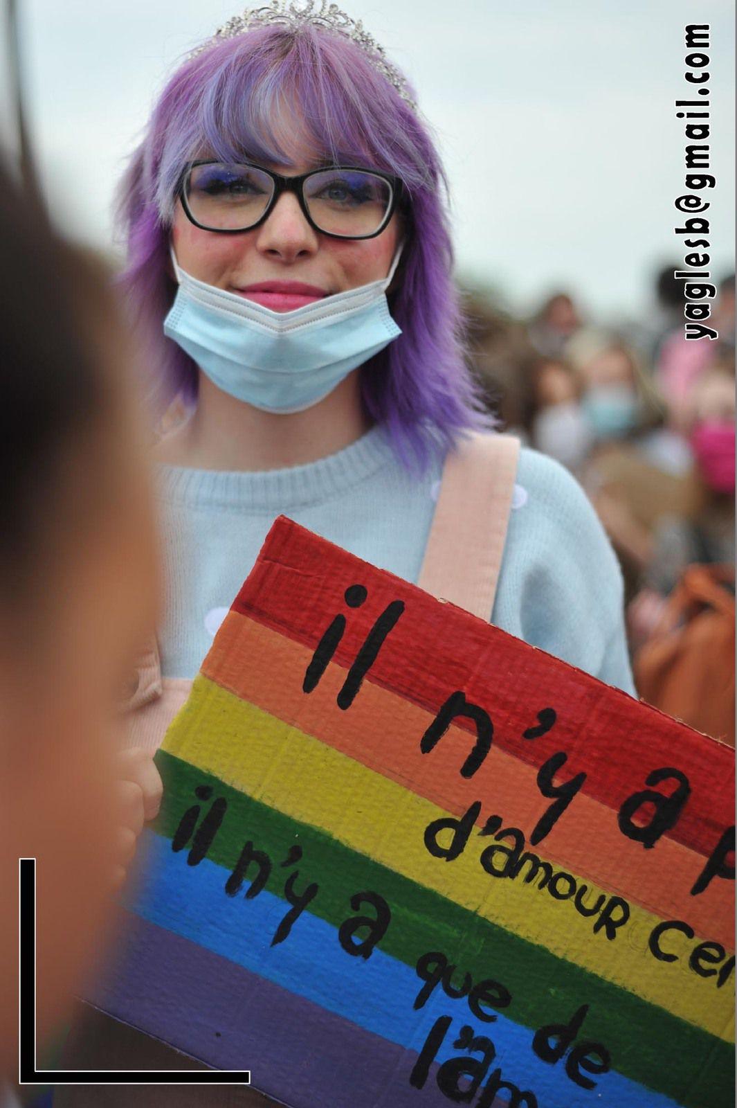 Pride Reims 2021 Marche des fiertés Reims 2021 3 juillet