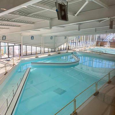 Le splendide nouveau centre aquatique arrive bientôt à Aulnay-sous-Bois