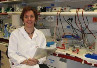 La investigadora Marisol Soengas en su laboratorio.- El Muni.