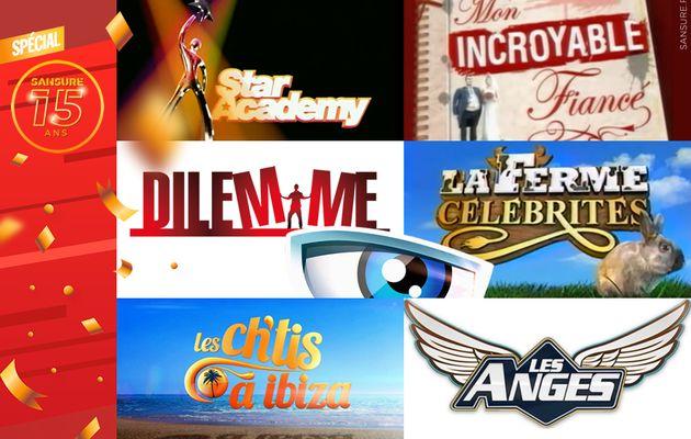 Spécial 15 ans : 15 ans de télé-réalité ! #15ansSANSURE
