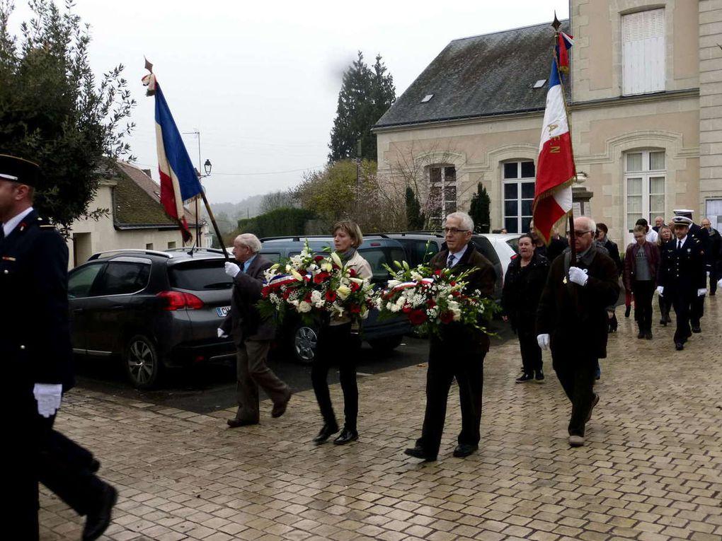 Commémoration du 11 novembre à Saint-Christophe