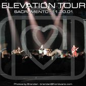 U2 -Elevation Tour -20/11/2001 -Sacramento USA- Arco Arena - U2 BLOG