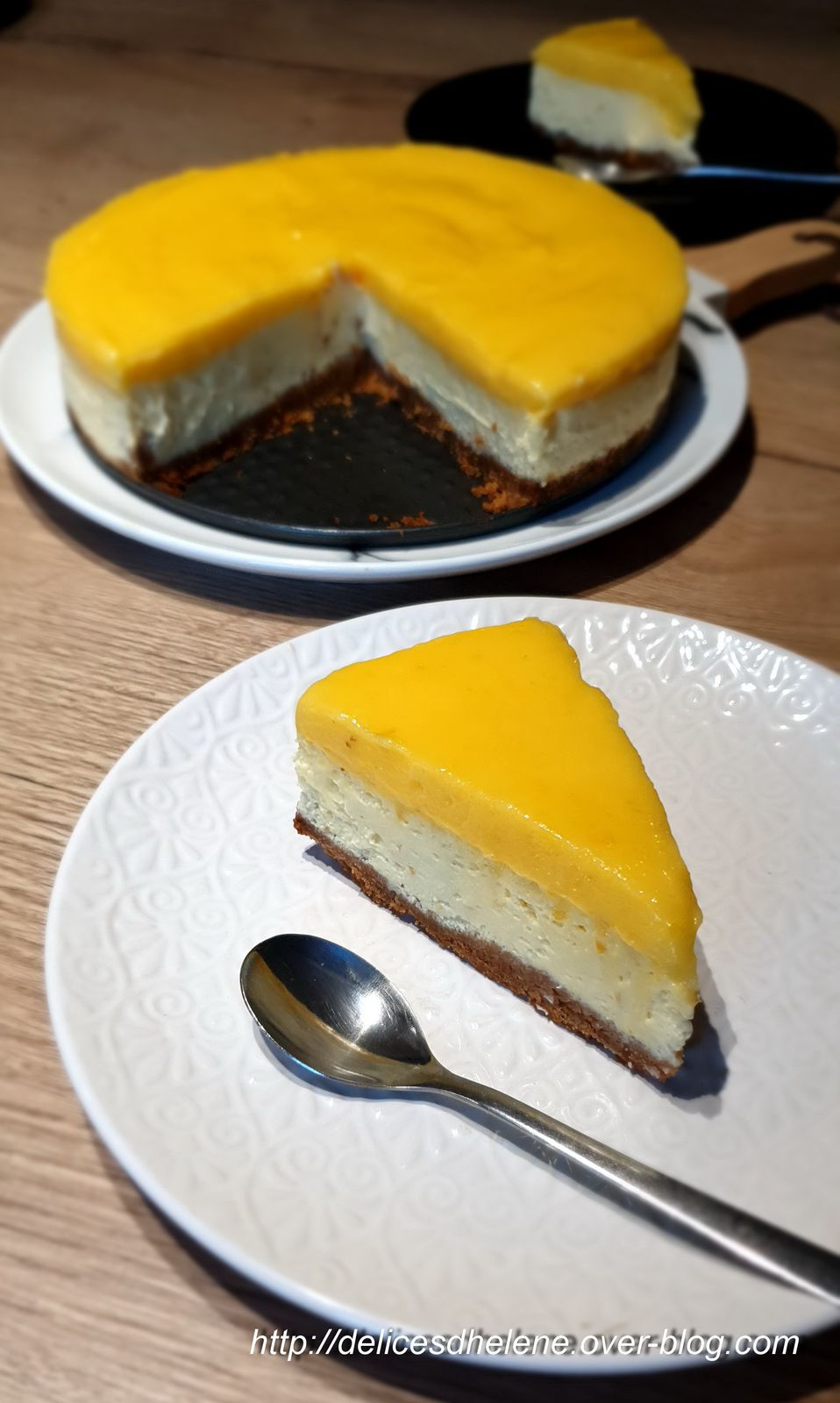 CHEESECAKE CITRON-LEMON CURD