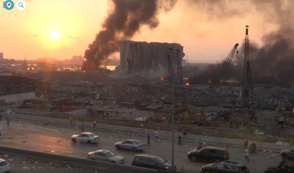 Deux explosions apocalyptiques ensanglantent le Liban. Au moins 100 morts