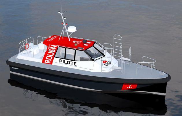 Le chantier Alu Marine innove avec son tout dernier bateau pilote
