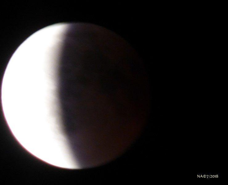 L'éclipse de lune en Alsace le 27 juillet 2018