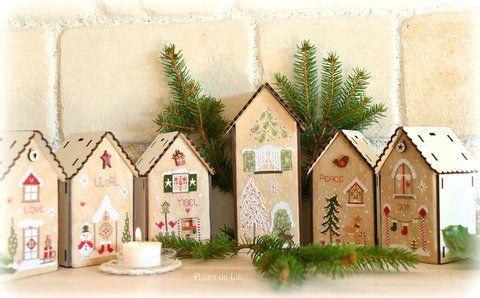 Grand nichoir de Noël