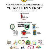 """VIII Premio Nazionale di Poesia """"L'arte in versi"""": il verbale di Giuria"""