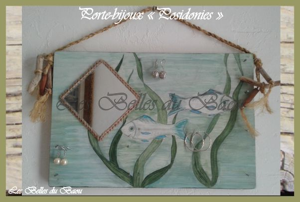 "Porte-bijoux modèle ""Posidonies"""