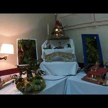 St André les Alpes  :  inauguration de l'exposition du loisir créatif