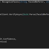 La reconnaissance faciale avec Microsoft Cognitive Service