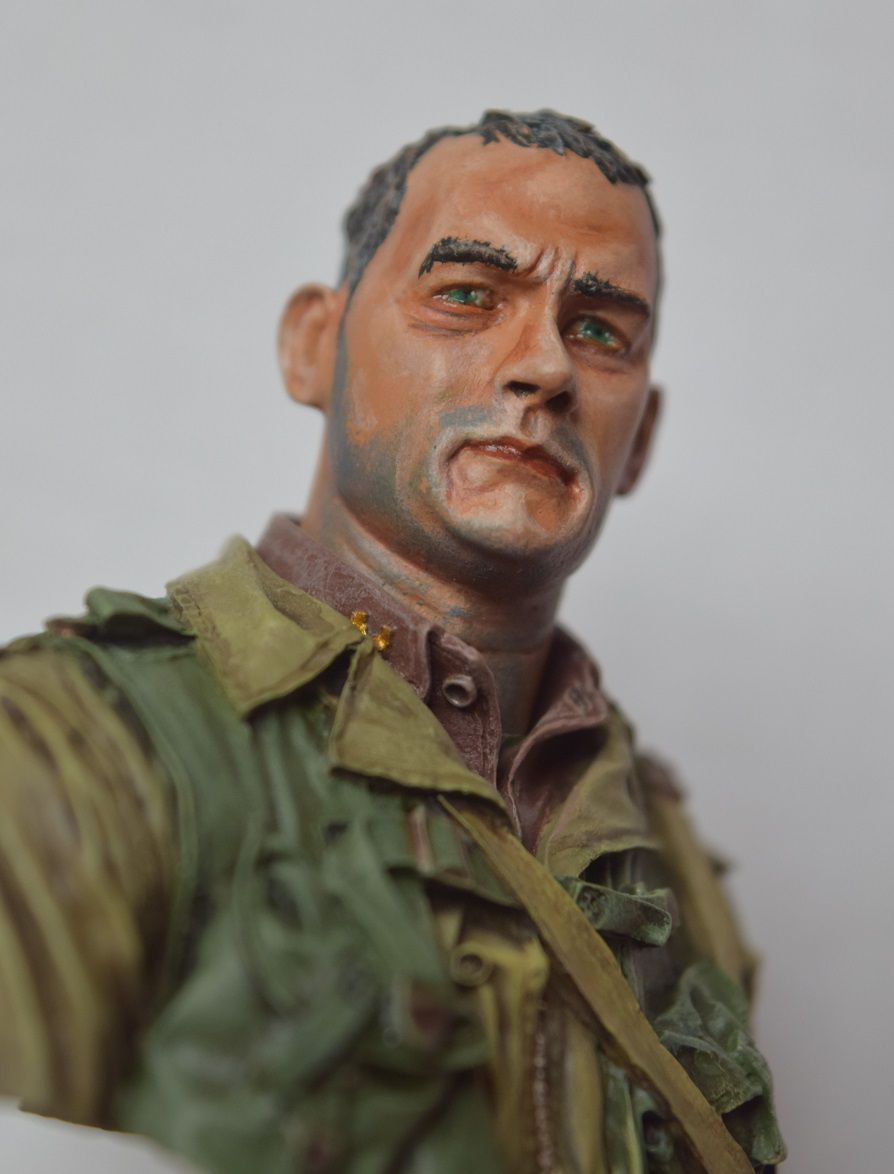 US 2nd Ranger battalion Normandy 1944 - Buste 1/10 -