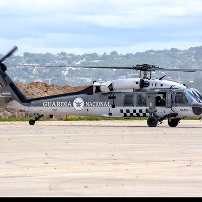 Sikorsky UH-60M Black Hawk - Guardia Nacional de México - New paint scheme for the former National Guard (Federal Police)