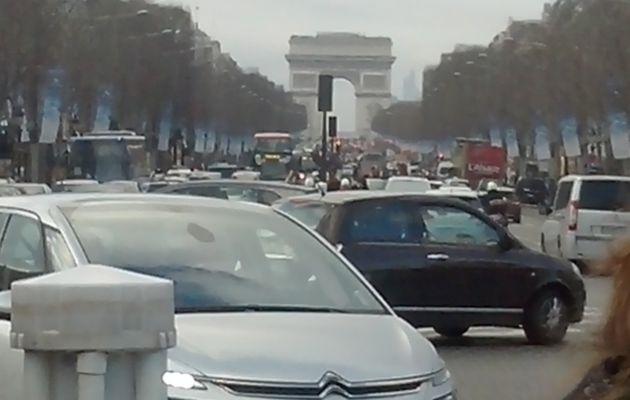 1er VICTOIRE....Aller ballade aux Champs Elysées !!