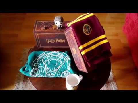 Unboxing wootbox Harry Potter!