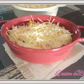 Cocotte de courgettes en gratin - La cuisine de Boomy