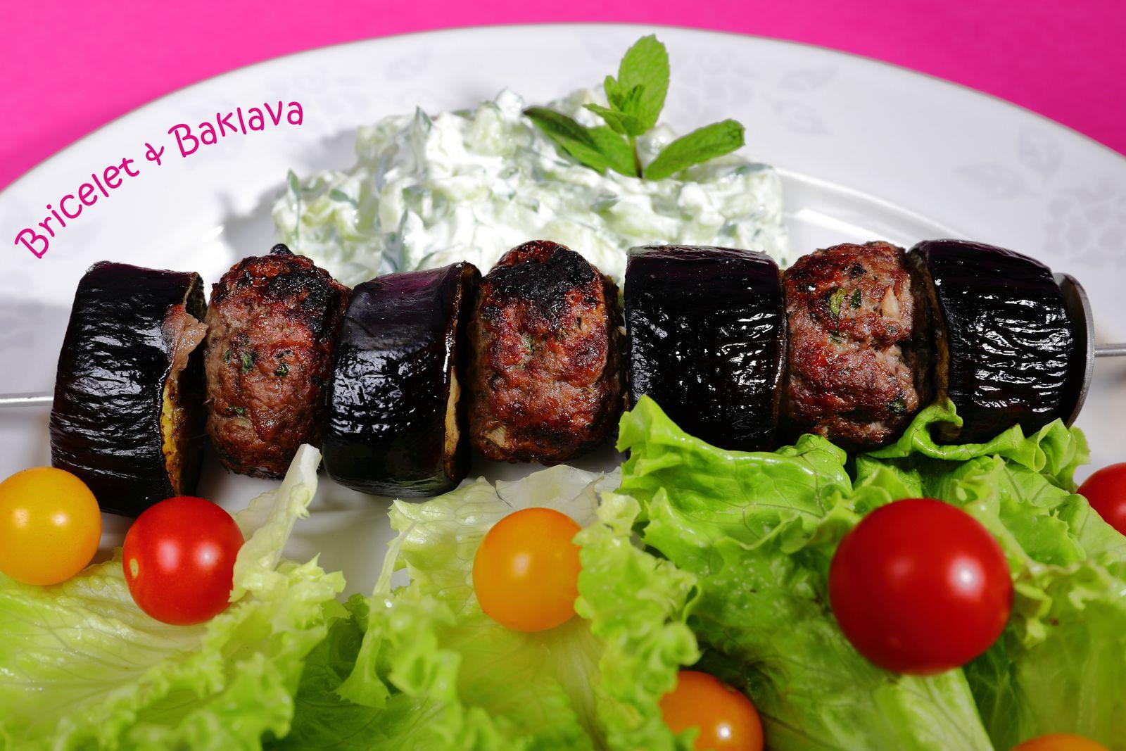 Kebab aux aubergines d'Urfa