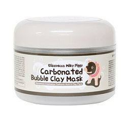 Carbonated bubble clay mask france