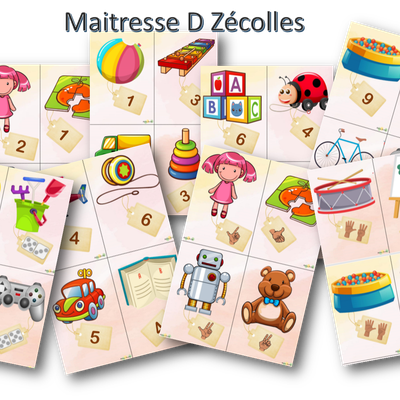 Maternelle : Jeu de la marchande version PS/MS/GS