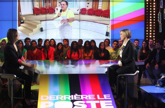 Retour le 23 octobre sur D8 de Derrière le poste (avec Nagui, Olivier Minne...).