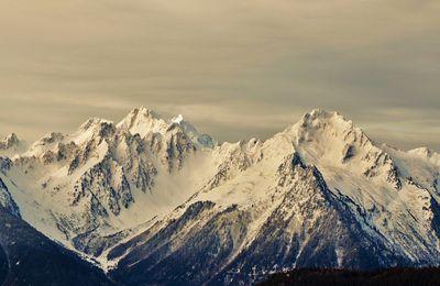 Retour aux sources, vues depuis le col de Paradis, Montaimont, Savoie, Maurienne.
