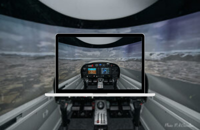 Air-Espace's brand new ELITE DA42 FNPT II simulator receives full EASA certification!