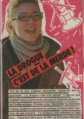 FRANCE CARTINI - DIS LEUR MERDE AUX DEALERS