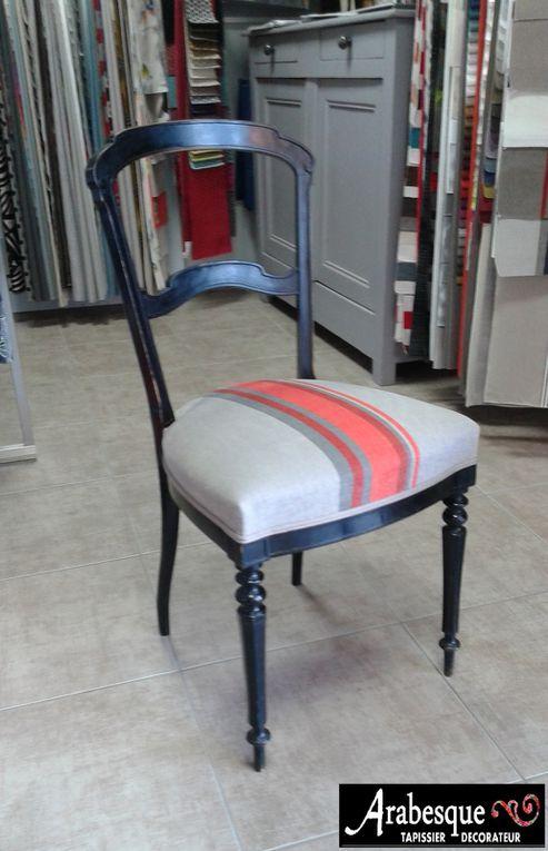 refection chaise arabesque