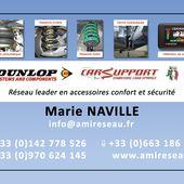 AMI Reseau c'est aussi du Conseil et du Service sur les Produits spécifiques : Suspension pneumatique DUNLOP, Suspension à air DUNLOP - A.M.I Réseau