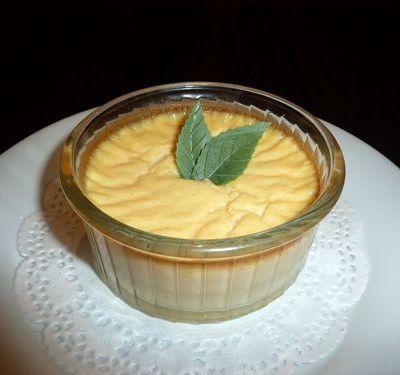 Crème au tofu soyeux arôme coco note de lait