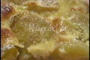 Clafoutis aux Reines-Claudes (recette Weight-Watchers)