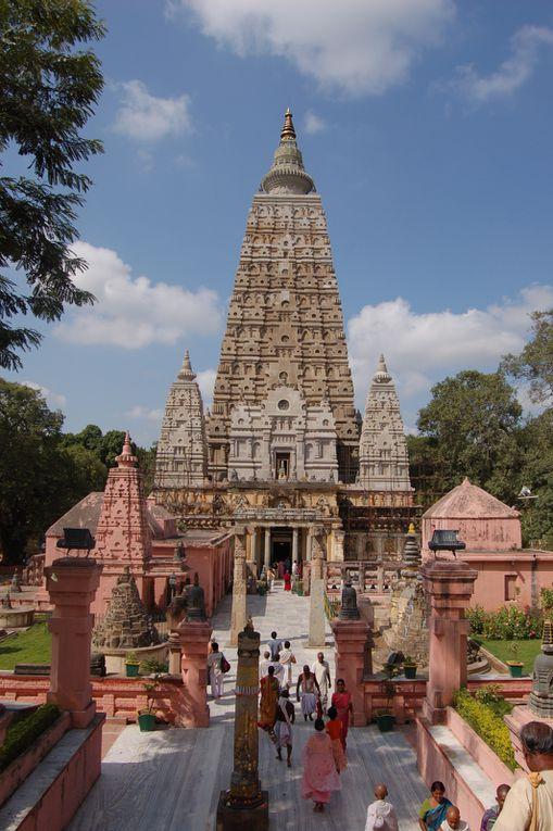 le Mahabody Temple et l'arbre de la Bodhi