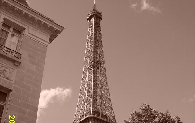 PARIS, by a warm afternoon.