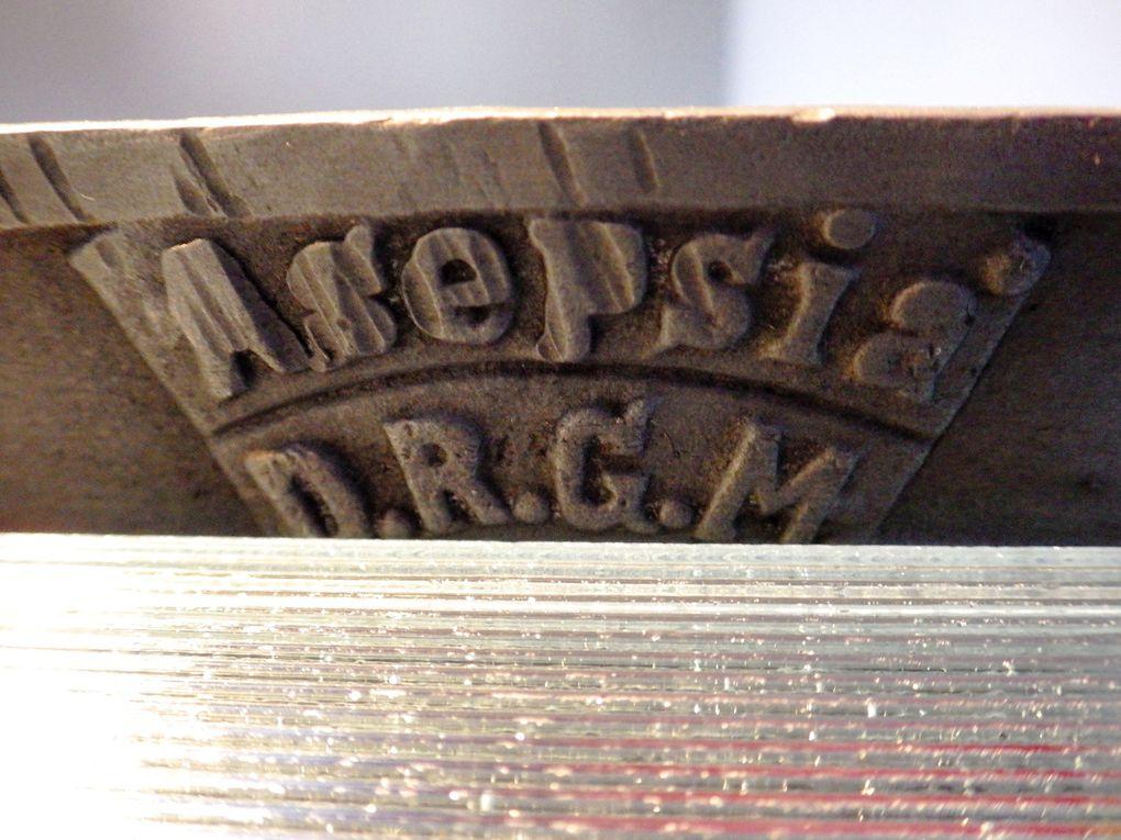 Rare Buffet Métallique de Dentiste 1900 Asepsia