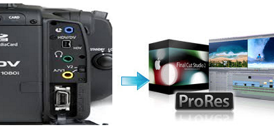 Import & Edit Canon XH-A1 1080i footage in Final Cut Pro X/7/6