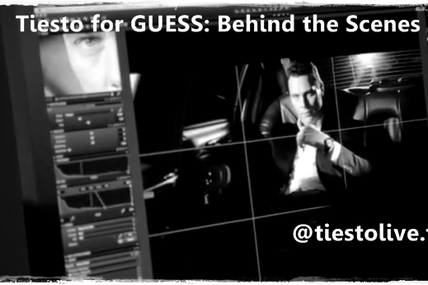Tiesto Vidéo for GUESS: Behind the Scenes - Les coulisses !