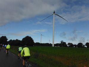 Toutes les éoliennes du parc sont au repos et vont être contrôlées.