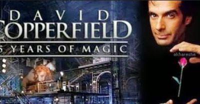 David Copperfield - spectacle et illusion - extraits en video